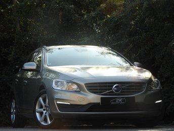 2015 VOLVO V60 2.0 D4 SE NAV 5d AUTO 188 BHP £13790.00