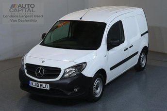 2018 MERCEDES-BENZ CITAN 1.5 109 CDI BLUEEFFICIENCY 90 BHP ULEZ COMPLIANT £7990.00
