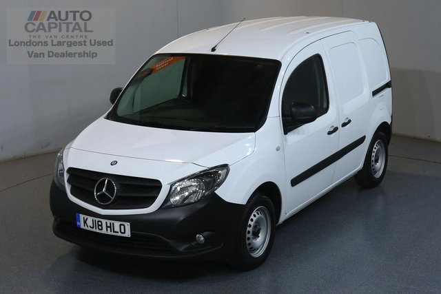 2018 18 MERCEDES-BENZ CITAN 1.5 109 CDI BLUEEFFICIENCY 90 BHP ULEZ COMPLIANT ONE OWNER FROM NEW