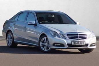 2010 MERCEDES-BENZ E CLASS 2.1 E250 CDI BLUEEFFICIENCY AVANTGARDE 4d AUTO 204 BHP