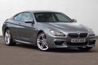 USED 2012 62 BMW 6 SERIES 3.0 640D M SPORT 2d AUTO 309 BHP hIGH spECIFICATION FBMWSH