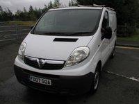 2007 VAUXHALL VIVARO 2.0 2900CDTI SWB 1d 90 BHP Van - SOLD £3695.00