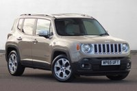 USED 2016 65 JEEP RENEGADE 1.6 M-JET LIMITED 5d 118 BHP Huge Spec FULL SERVICE HISTORY