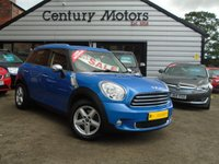 2012 MINI COUNTRYMAN 1.6 ONE [Pepper] 5d - BLUETOOTH £5990.00