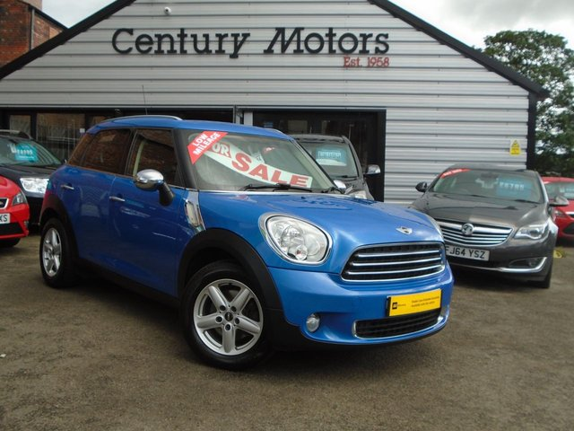2012 62 MINI COUNTRYMAN 1.6 ONE [Pepper] 5d - BLUETOOTH