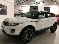 2012 LAND ROVER RANGE ROVER EVOQUE 2.2 ED4 PURE TECH 5d 150 BHP £15350.00
