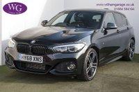 2018 BMW 1 SERIES 2.0 118D M SPORT SHADOW EDITION 5d AUTO 147 BHP £19495.00