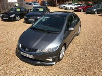 USED 2011 61 HONDA CIVIC 1.8 i-VTEC Type S GT 3dr Panoramic Glass Roof