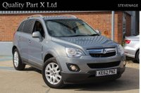 USED 2012 62 VAUXHALL ANTARA 2.2 CDTi Exclusiv AWD (s/s) 5dr FSH, SENSORS, HEATED, AUX, ECO