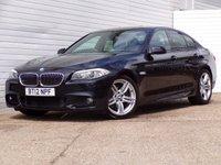 2012 BMW 5 SERIES 2.0 520D M SPORT 4d 181 BHP £8949.00