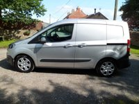 USED 2015 15 FORD TRANSIT COURIER 1.5 TREND TDCI 1d 74 BHP FANTASTIC UN-ABUSED VAN. EXCELLENT TREND SPEC.EXCELLENT HISTORY. RECENT SERVICE. BLUETOOTH. MUSIC STREAMING