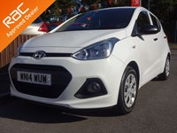 USED 2014 14 HYUNDAI I10 1.0i S 5-door *LOW ROAD TAX* *LOOK*FULL SERVICE HISTORY*USB/AUX*CD PLAYER*