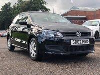 USED 2012 62 VOLKSWAGEN POLO 1.2 S A/C 3d 60 BHP 2 PREVIOUS KEEPER *  FULL SERVICE RECORD *  FULL YEAR MOT *  2 KEYS *
