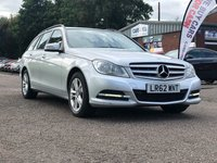 USED 2012 62 MERCEDES-BENZ C CLASS 2.1 C220 CDI BLUEEFFICIENCY EXECUTIVE SE 5d AUTO 168 BHP FULL LEATHER *  BLUETOOTH *  FRONT AND REAR PARKING AID *  CRUISE CONTROL *  MEDIA CONNECTIVITY *
