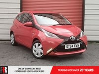 USED 2014 64 TOYOTA AYGO 1.0 VVT-I X-PLAY 3d 69 BHP Air Re circulation Control