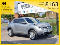 USED 2017 66 NISSAN JUKE 1.2 N-CONNECTA DIG-T 5d 115 BHP