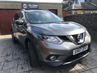 USED 2017 67 NISSAN X-TRAIL 1.6 DCI TEKNA 4WD 5d 130 BHP  7SEATS+4WD+NAV+LEATHER+PANROOF