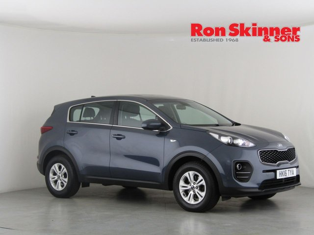View our 2016 16 KIA SPORTAGE 1.7 CRDI 1 ISG 5d 114 BHP