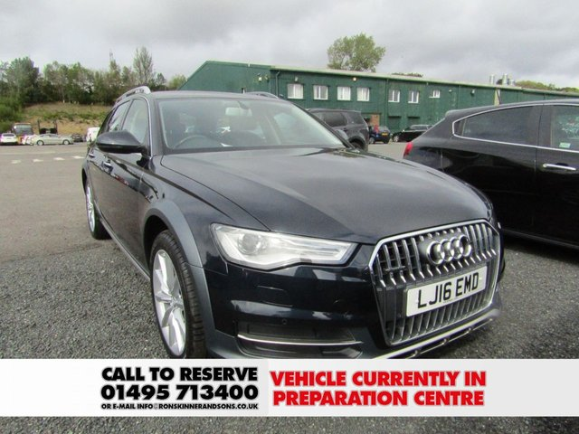View our 2016 16 AUDI A6 3.0 ALLROAD TDI QUATTRO 5d AUTO 268 BHP