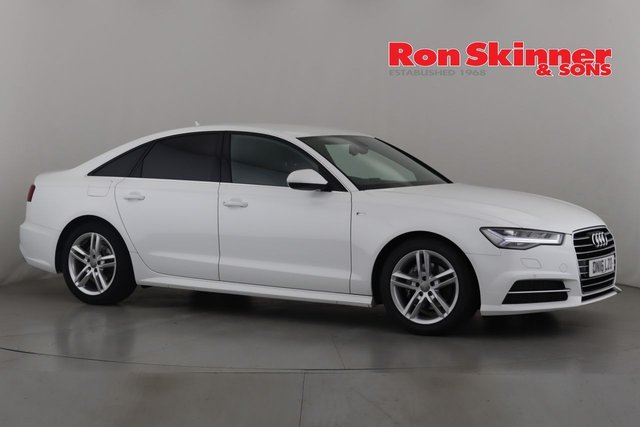 View our 2016 16 AUDI A6 2.0 TDI ULTRA S LINE 4d 188 BHP