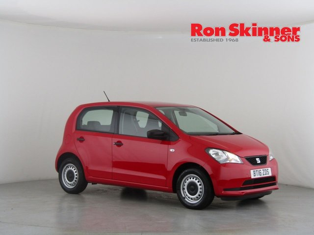 View our 2016 16 SEAT MII 1.0 S 5d 59 BHP