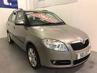 USED 2009 09 SKODA FABIA 1.6 3 16V TIPTRONIC 5d AUTO 103 BHP 1 Owner, Low Low Mileage Only 25,000 Miles, Full History 10 Stamps, Automatic, Petrol,  Estate Car Now That's Got To Be In Someones Tick List!