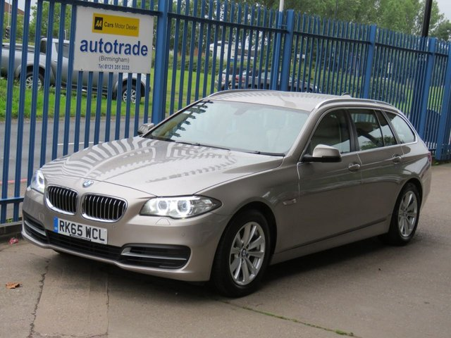 USED 2015 65 BMW 5 SERIES 2.0 520D SE Touring Auto Sat nav Leather Cruise DAB Heated seats Finance arranged Part exchange available Open 7 days