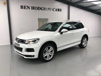 USED 2012 62 VOLKSWAGEN TOUAREG 3.0 V6 ALTITUDE TDI BLUEMOTION TECHNOLOGY 5d AUTO 242 BHP Only 59k! Huge Spec!