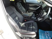 USED 2014 64 MAZDA 6 2.2 D SPORT NAV 4dr £20 Tax, Sat Nav, Leather, FSH