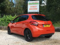 USED 2015 65 PEUGEOT 208 1.2 PURETECH S/S ALLURE 5dr Great Spec, Sat Nav, Camera
