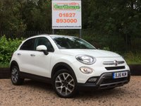 USED 2016 16 FIAT 500X 1.4 MULTIAIR CROSS 5dr Half Leather, Cruise, FFSH