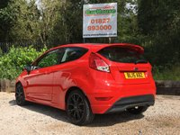 USED 2015 15 FORD FIESTA 1.0 ZETEC S RED EDITION 3dr £20 Tax, Ford SH, Bluetooth