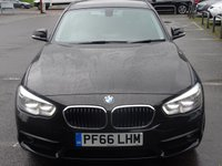 USED 2016 66 BMW 1 SERIES 1.5 116D ED PLUS 5d 114 BHP HIGH SPEC LOW MILEAGE FSH ZERO ROAD TAX