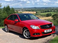 USED 2011 11 MERCEDES-BENZ C CLASS 2.1 C200 CDI BLUEEFFICIENCY SE 4d 135 BHP
