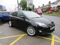 USED 2013 13 FORD FOCUS 1.0 ZETEC 5d 99 BHP Low Mileage & Full Service History