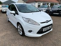 USED 2010 60 FORD FIESTA 1.6 ZETEC S 3d 118 BHP ONE YEAR WARRANTY INCLUDED / EXCELLENT HISTORY WITH 8 STAMPS IN THE BOOK / CAM BELT DONE 101000 MILES / FULL LEATHER / VOICE  COMMS / USB / BLUETOOTH
