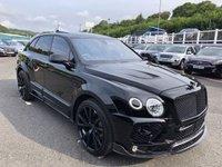 USED 2018 18 BENTLEY BENTAYGA 4.0 V8 5d 542 BHP LIST £282,593 with £62,565 Bentley options & £80,514 MANSORY Kit