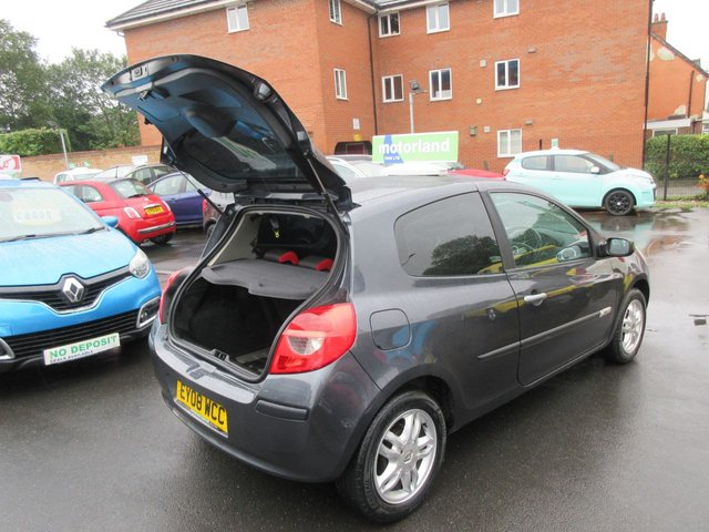 USED 2008 08 RENAULT CLIO 1.1 RIP CURL 16V 3d 75 BHP 12 MONTH MOT....6 MONTHS WARRANTY