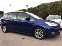 USED 2016 16 FORD GRAND C-MAX 1.0 ZETEC 5d WITH SAT NAV AND 7 SEATS  NO DEPOSIT  PCP/HP FINANCE ARRANGED, APPLY HERE NOW