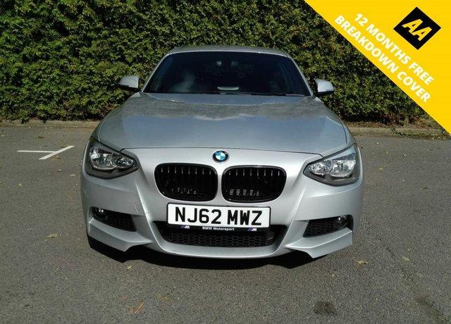 2012 62 BMW 1 SERIES 2.0 118D M SPORT 3d 141 BHP