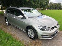 2015 VOLKSWAGEN GOLF 1.6 SE TDI BLUEMOTION TECHNOLOGY DSG 5d AUTO 103 BHP £7995.00