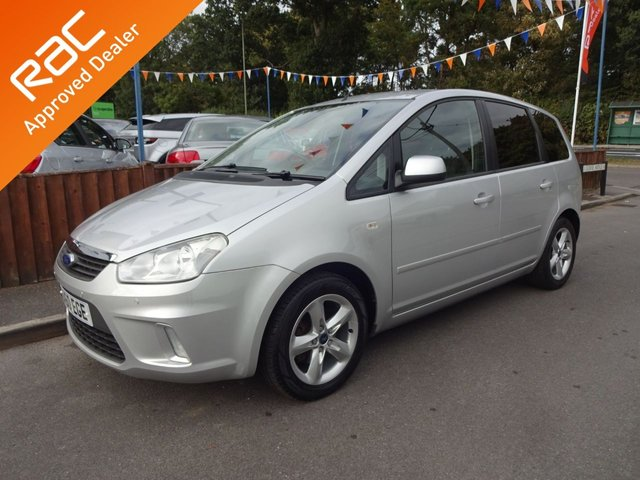 USED 2010 60 FORD C-MAX 1.6 ZETEC 5DOOR, 2 OWNERS **ONLY 39,000 MILES FROM NEW*PARKING SENSORS**