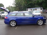 USED 2016 16 FORD MONDEO 2.0 TITANIUM TDCI 5d 177 BHP 1 OWNER WITH A FSH