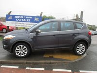 USED 2009 59 FORD KUGA 2.0 TITANIUM TDCI 2WD 5d 134 BHP Service History .New MOT & Full Service Done on purchase + 2 Years FREE Mot & Service Included After . 3 Months Russell Ham Quality Warranty . All Car's Are HPI Clear . Finance Arranged - Credit Card's Accepted . for more cars www.russellham.co.uk  - Owners Book Pack.