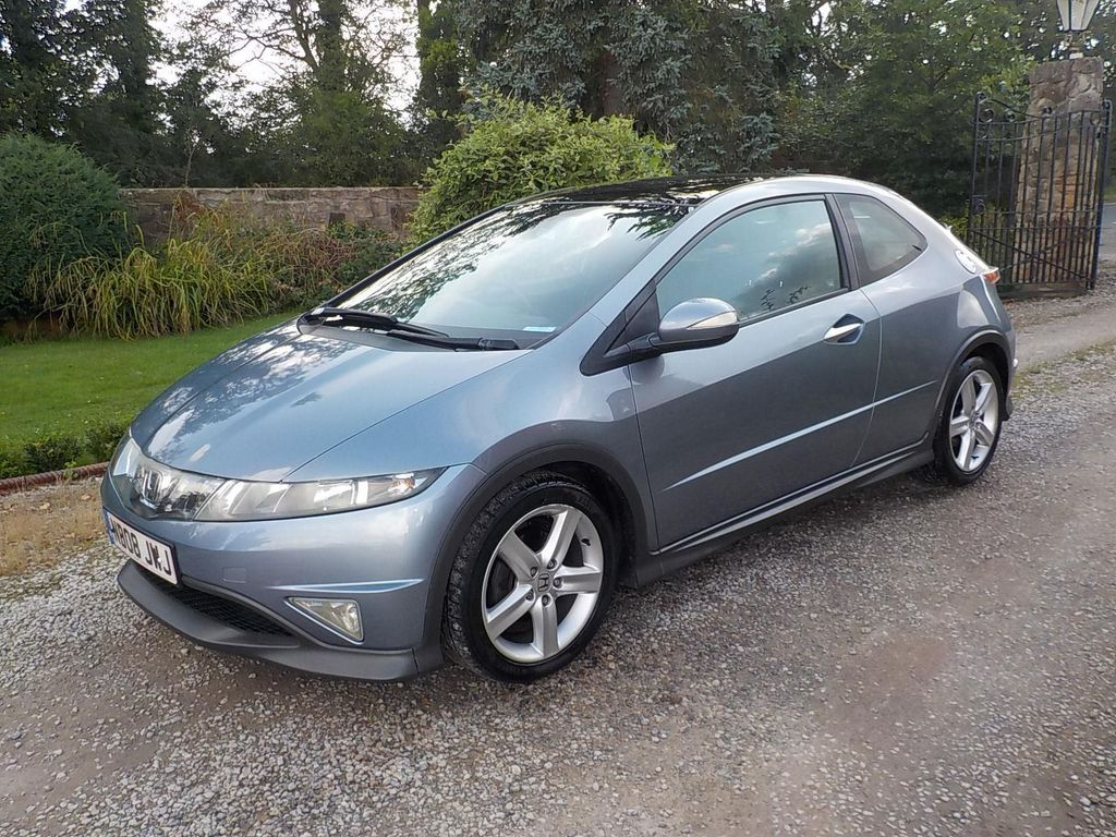 USED 2008 08 HONDA CIVIC 1.8 i-VTEC Type S GT 3dr Fabulous condition