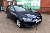 USED 2016 16 VOLKSWAGEN GOLF 1.6 MATCH EDITION TDI BMT 5d 109 BHP +ONE OWNER +FREE TAX +SAT NAV.