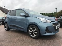 USED 2017 17 HYUNDAI I10 1.2 PREMIUM SE 5d WITH SAT NAV AND SUNROOF  NO DEPOSIT  PCP/HP FINANCE ARRANGED, APPLY HERE NOW