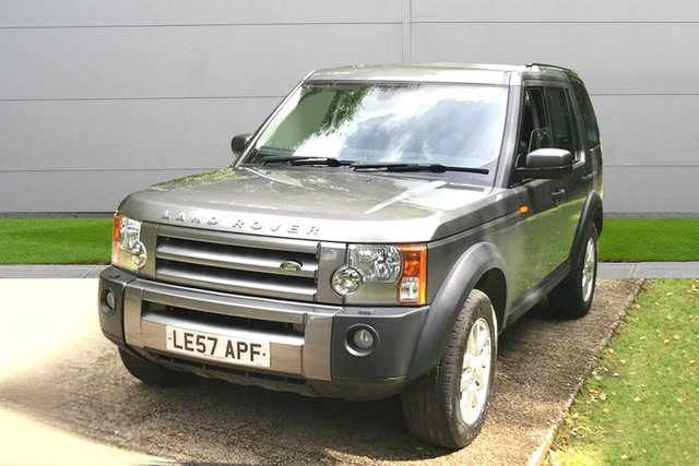 USED 2008 57 LAND ROVER DISCOVERY 2.7 3 TDV6 XS 5d DIESEL AUTO SAT NAV LEATHER, AUTOMATIC LOW MILEAGE, FINANCE ME TODAY-UK DELIVERY POSSIBLE