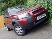 2005 LAND ROVER FREELANDER 2.0 TD4 S STATION WAGON 5d 110 BHP £1999.00