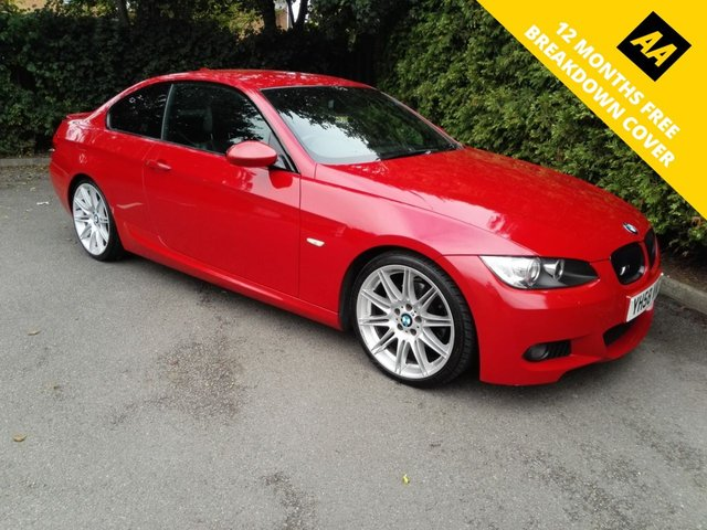 2008 58 BMW 3 SERIES 2.0 320D M SPORT 2d AUTO 175 BHP